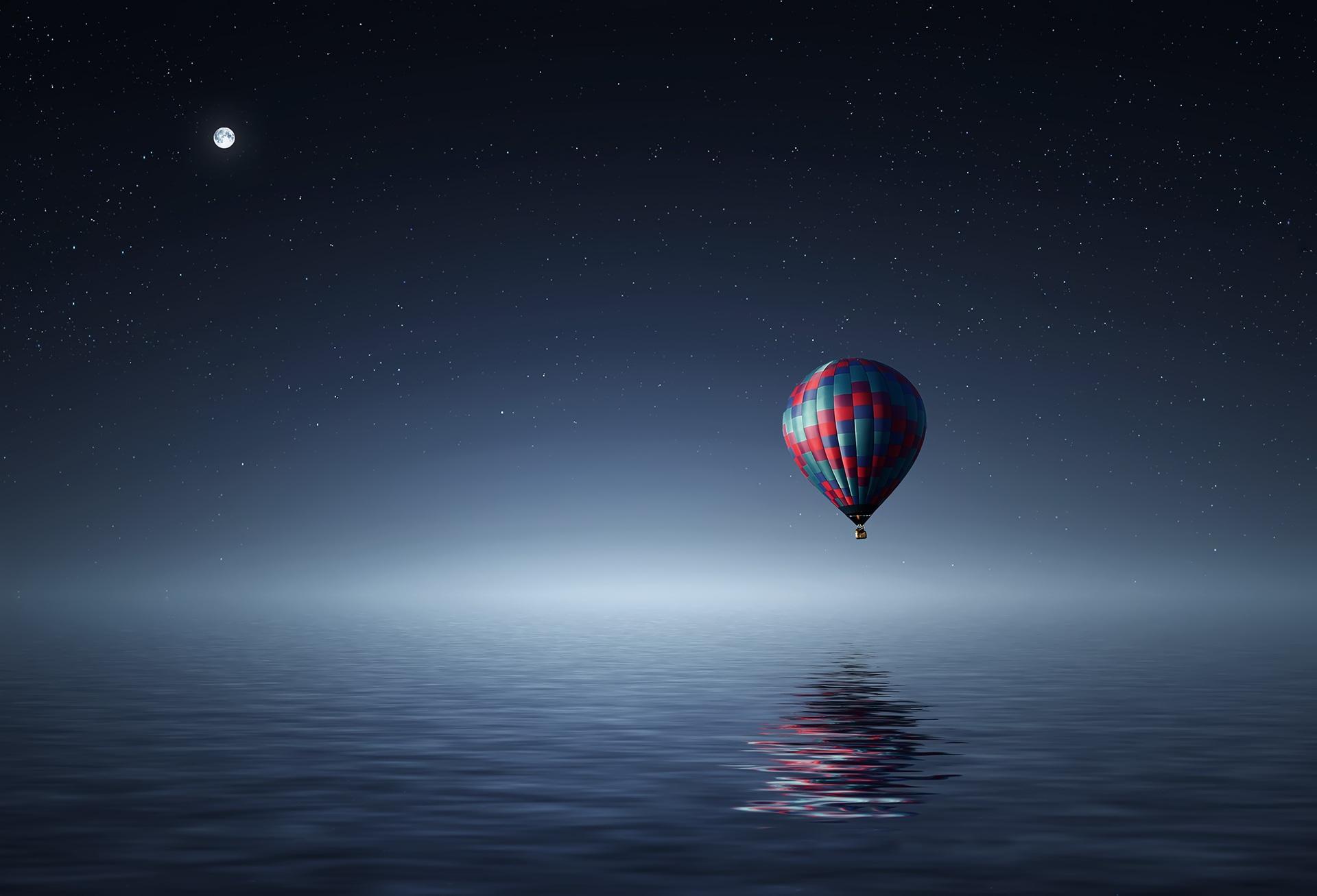 Hot air balloon marketing your 3 Principles enterprise