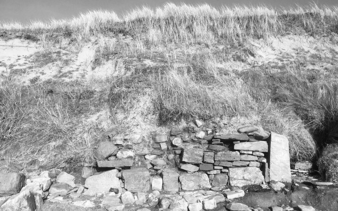 Lost village at St Ishmael's scar